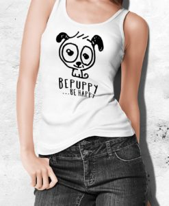 Canotte da donna bepuppy be happy! - BEPUPPY