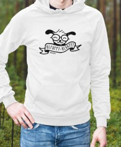 Pullover bepuppy be happy, felpa con cappuccio - BEPUPPY