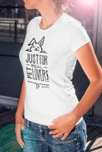 Magliette da donna just for real pet lovers! Bunny lover t-shirts - BEPUPPY